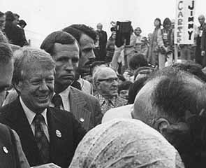 Jimmy Carter whistle stop campaign for presidency, Altoona photo